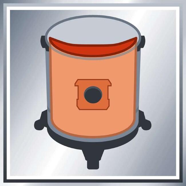 Мешки для пылесоса, 15 литров, 5 шт, Einhell