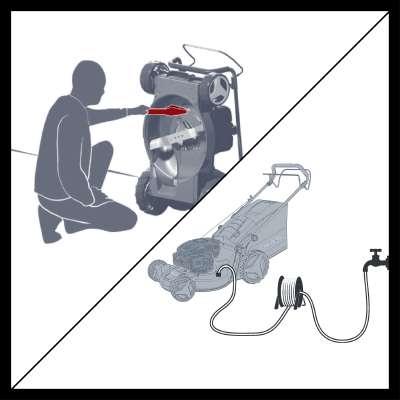 Газонокосилка бензиновая Einhell GE-PM 48 S HW B&S