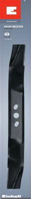 Нож 500 мм для бензиновой газонокосилки, Einhell