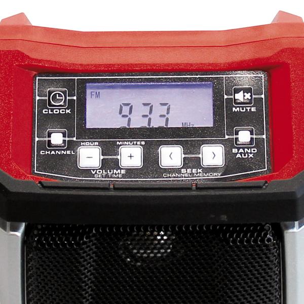 Радио на аккумуляторе Einhell TE-CR 18 Li-Solo