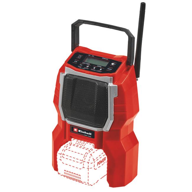 Радио на аккумуляторе Einhell TC-RA 18 Li BT - Solo
