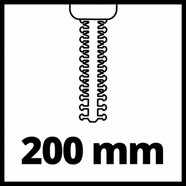 Ножницы-кусторез аккумуляторный Einhell GE-CG 18/100 Li T-Solo