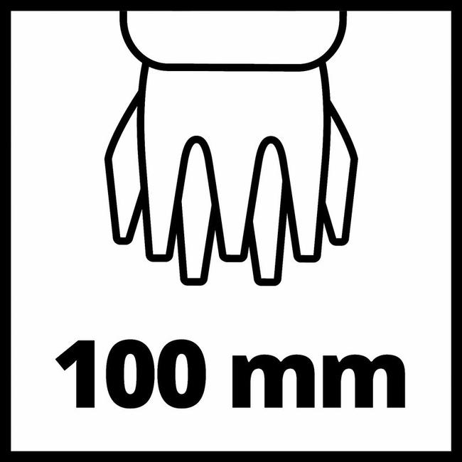 Ножницы-кусторез аккумуляторный Einhell GE-CG 18/100 Li-Solo