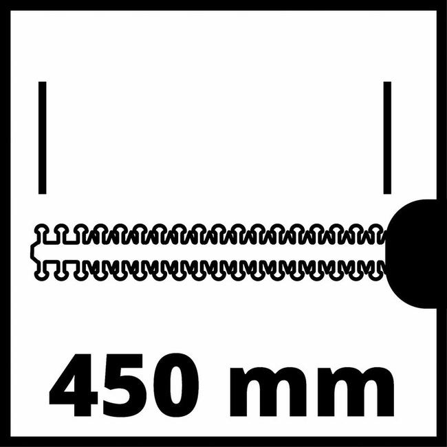 Кусторез аккумуляторный Einhell GC-HH 18/45 Li T-Solo