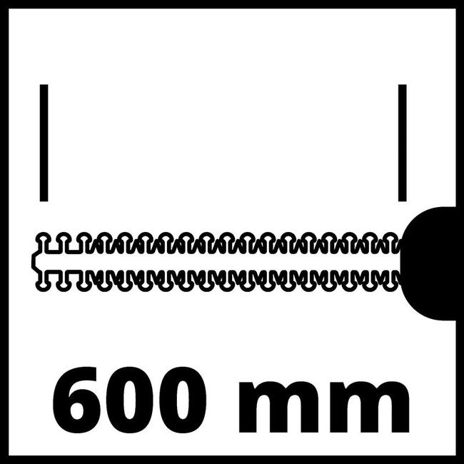Кусторез аккумуляторный Einhell GE-CH 18/60 Li-Solo