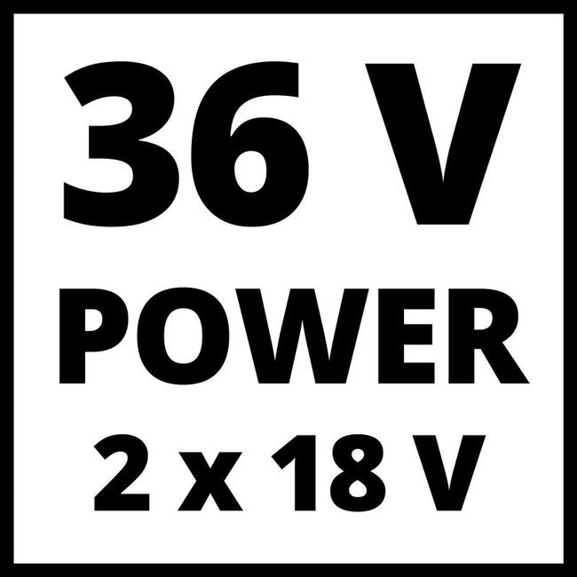 Газонокосилка аккумуляторная Einhell GE-CM 36/33 Li (2x2.5 Ah)