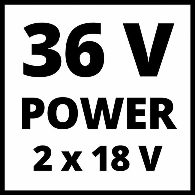Газонокосилка аккумуляторная Einhell GE-CM 36/36 Li
