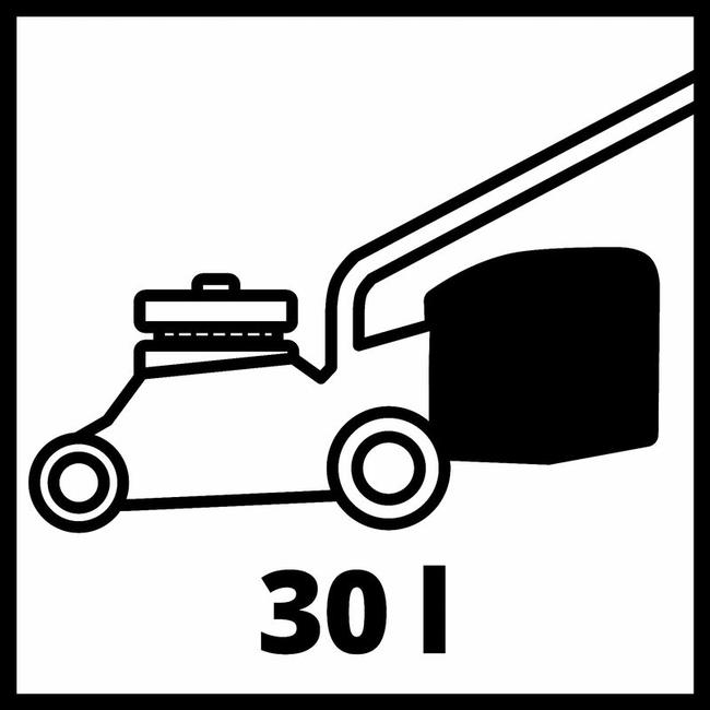 Газонокосилка аккумуляторная Einhell GE-CM 18/33 Li