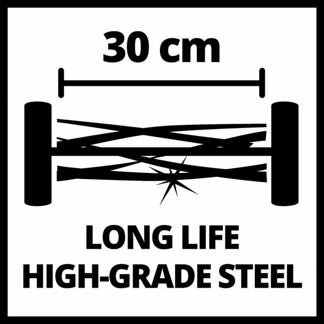 Газонокосилка механическая Einhell GC-HM 300