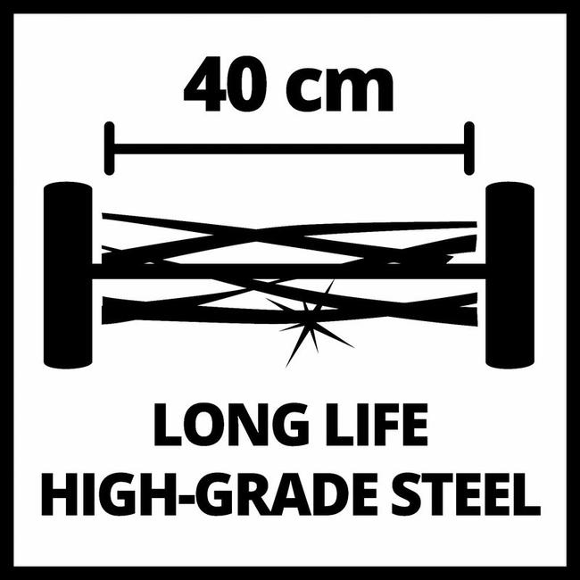 Газонокосилка механическая Einhell GC-HM 400