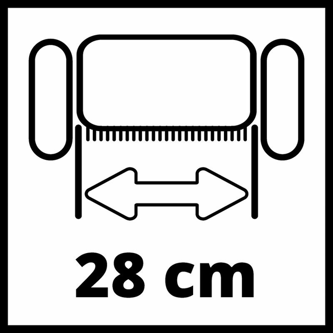 Аэратор-скарификатор Einhell GC-SC 18/28 Li-Solo