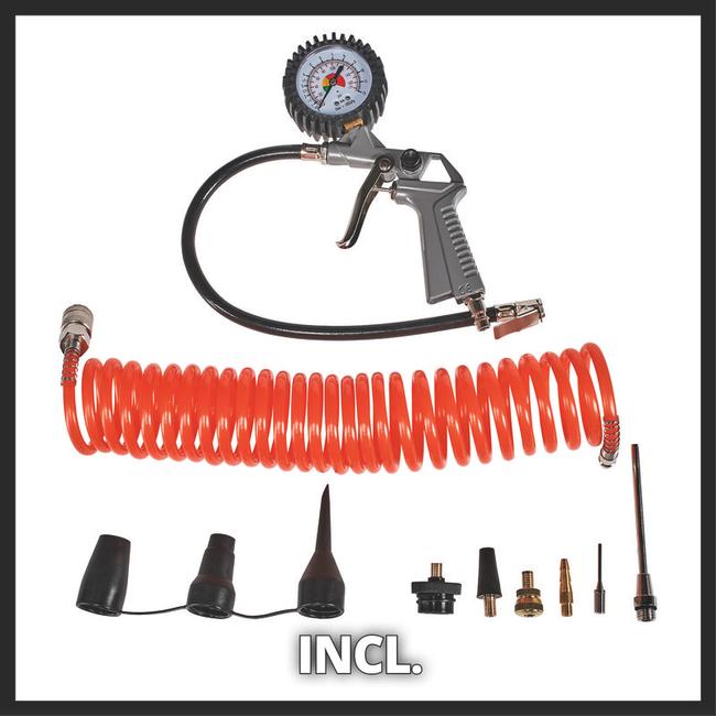 Компрессор Einhell TC-AC 190/24/8 Kit
