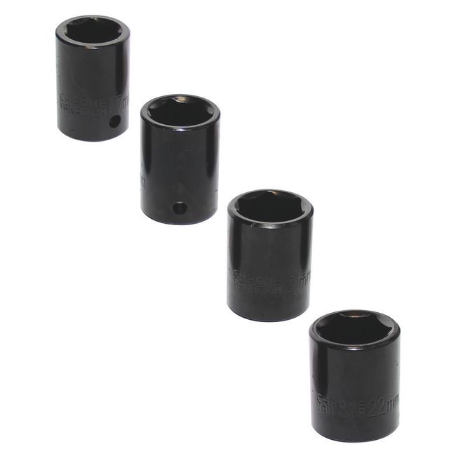 Комплект насадок для компрессора + гайковерт, 10 шт, Einhell