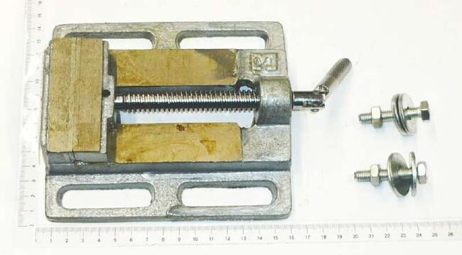Тиски для сверлильного станка, 75 мм, Einhell