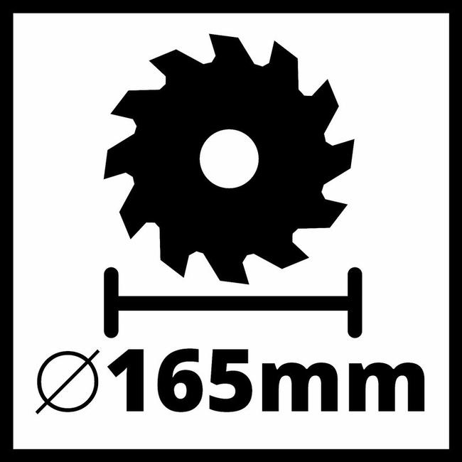 Циркулярная пила Einhell TC-CS 1250