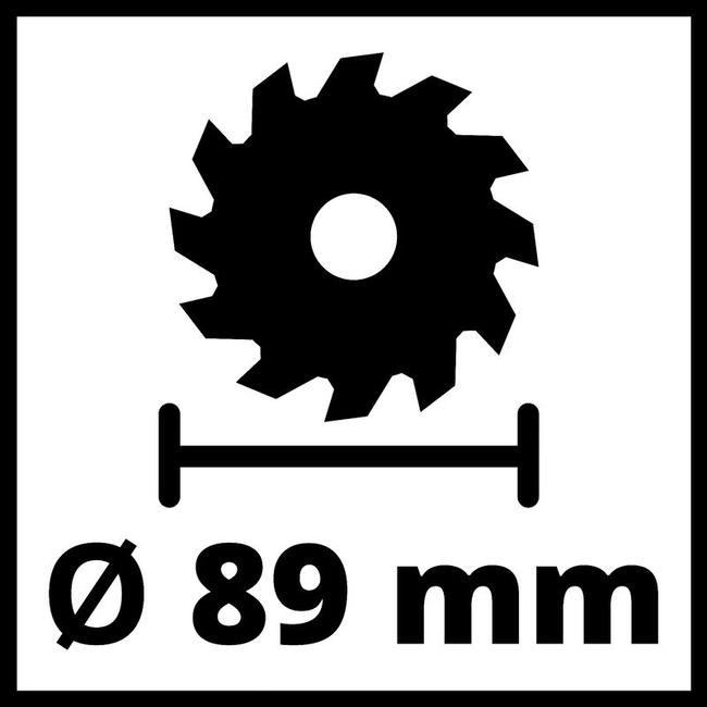 Циркулярная пила Einhell TE-CS 18/89 Li - Solo