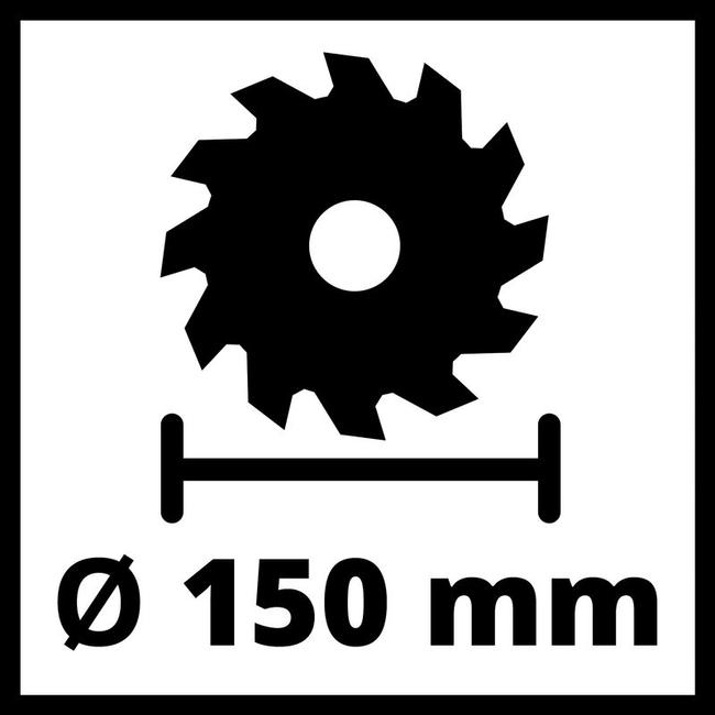 Циркулярная пила Einhell TE-CS 18/150 Li - Solo