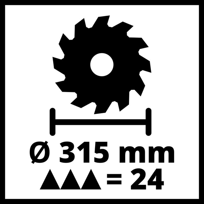 Пильный станок по дереву Einhell TE-TS 315 UD