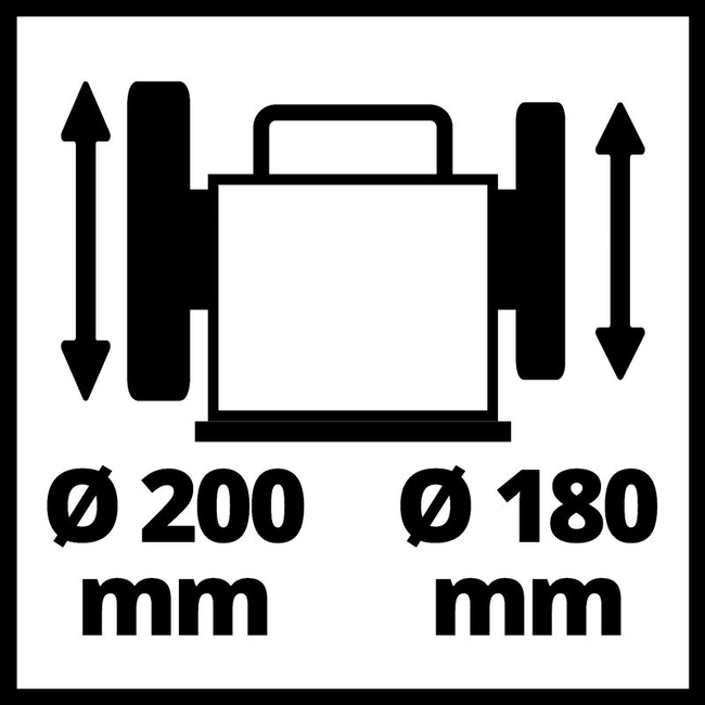 Точильный станок Einhell TC-WD 200