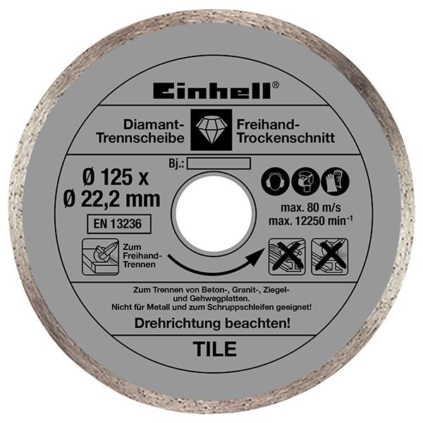 Болгарка Einhell TE-AG 125 CE Kit