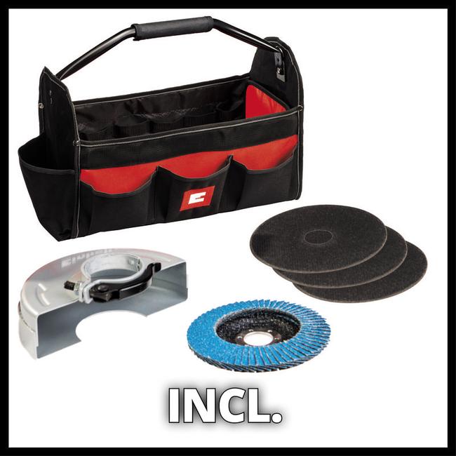 Болгарка Einhell TC-AG 125/850 Kit