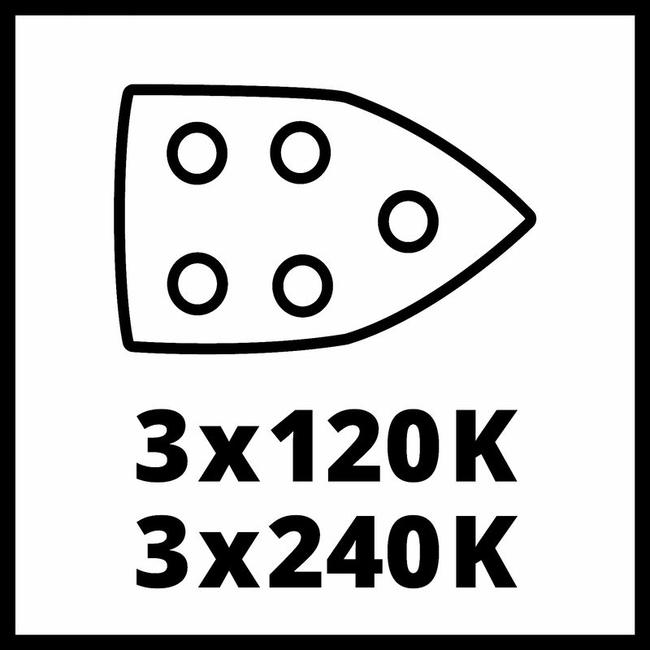 Виброшлифмашина Einhell TE-OS 18/150 Li Solo