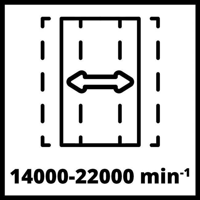 Плоскошлифовальная машина Einhell TE-OS 18/230 Li Solo