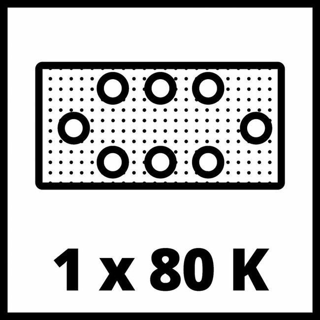 Плоскошлифовальная машина Einhell TC-OS 18/187 Li Solo