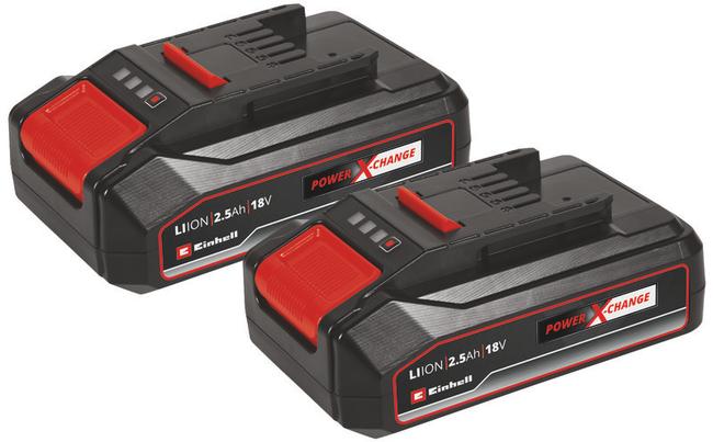 Комплект аккумуляторов Einhell Twinpack 18V, 2.5 Ач, Li-Ion
