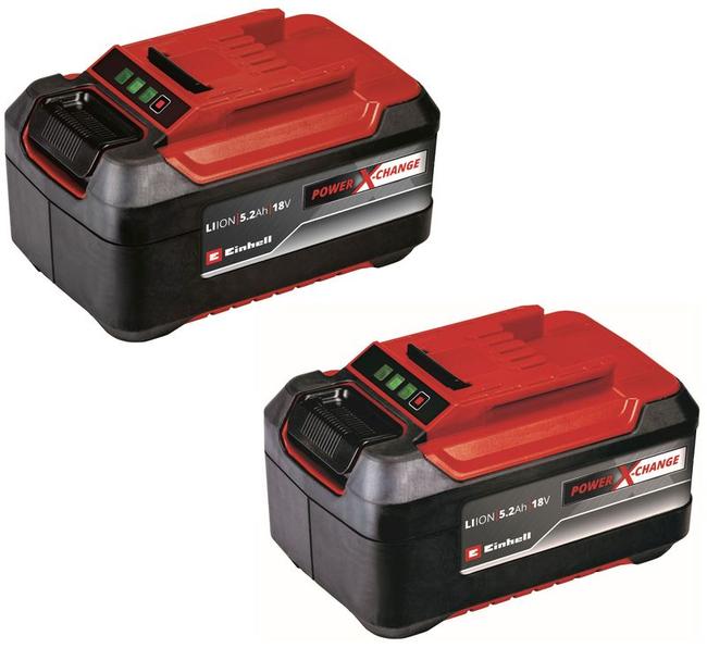 Комплект аккумуляторов Einhell Twinpack 18V, 5.2 Ач, Li-Ion