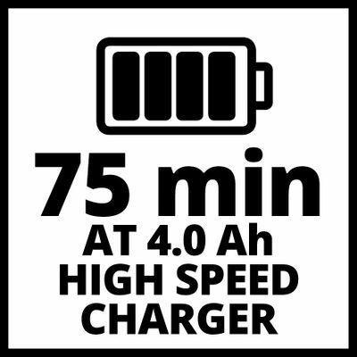 Зарядное устройство + аккумулятор 1x4.0 Ah, Einhel 18V, Li-Ion