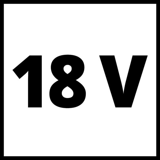 Зарядное устройство + аккумулятор 1x5.2 Ah, Einhel 18V, Li-Ion