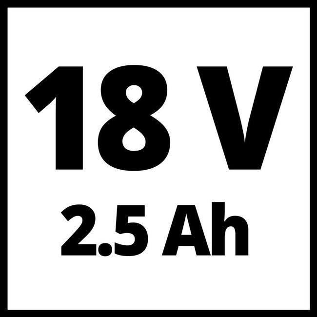 Шуруповерт Einhell TE-CD 18/40-1 Li (1x2,5 Ah)