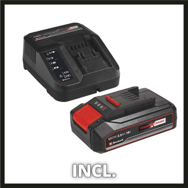 Аккумуляторный перфоратор Einhell TE-HD 18 Li Kit