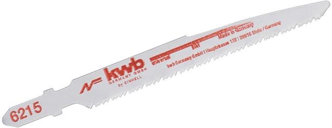 Набор пилок по дереву и металлу для сабельной пилы, 4 шт, KWB